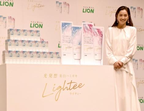 サムネイル 『Lightee』新CM・新製品発表会に出席した中村アン(C)ORICON NewS inc.