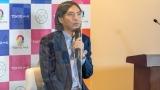 TOKYO MX『2021年4月改編』記者発表会に出席したふかわりょう