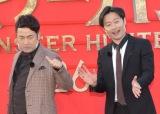 豪州産の肉に困惑した和牛(左から)水田信二、川西賢志郎 (C)ORICON NewS inc.