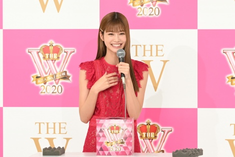 『THE W 2020』大会サポーターの生見愛瑠(C)日本テレビ