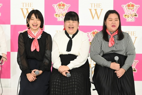 『THE W 2020』ファイナリスト・ぼる塾(C)日本テレビ