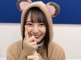 """『日向撮』公式ツイッターで""""たぬきコスプレ""""を披露した小坂菜緒"""