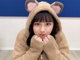 """『日向撮』公式ツイッターで""""たぬきコスプレ""""を披露した渡邉美穂"""