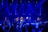 Novelbrightのライブシーン=『アオハル甲子園〜マイナークラブ☆フェスティバル〜』北海道の総合テレビで3月26日放送(※釧路・根室地方を除く) (C)NHK
