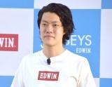 『EDWIN JERSEYS 新CM発表会』に参加した霜降り明星・粗品 (C)ORICON NewS inc.