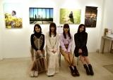 東京女子流、初の写真展に喜び