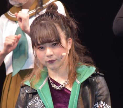AKB48チーム8単独舞台第4弾『マジムリ学園 蕾-RAI-』取材会に出席した倉野尾成美 (C)ORICON NewS inc.