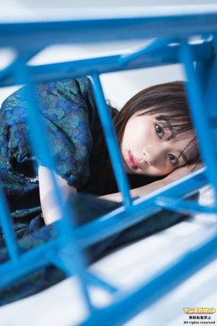 『ヤンマガWeb』に登場した杉本愛里(C)槇野翔太/ヤンマガWeb