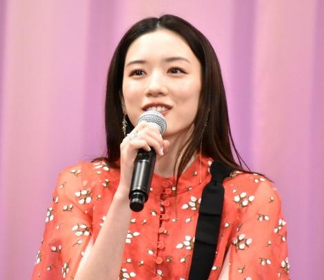 映画『キネマの神様』の完成報告会見に登壇した永野芽郁 (C)ORICON NewS inc.