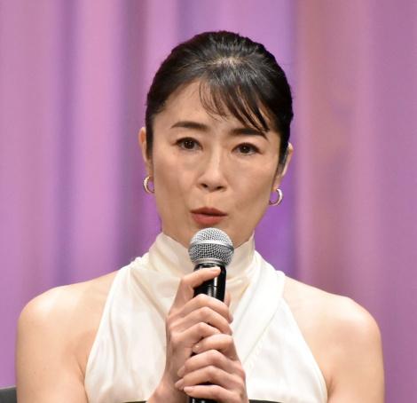 映画『キネマの神様』の完成報告会見に登壇した寺島しのぶ (C)ORICON NewS inc.