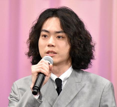 映画『キネマの神様』の完成報告会見に登壇した菅田将暉(C)ORICON NewS inc.