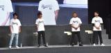 (左から)濱田龍臣、杉浦太陽、つるの剛士、石黒英雄 (C)ORICON NewS inc.