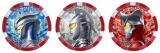 ウルトラメダル(ゼロ、セブン、レオ)(C)円谷プロ (C)ウルトラマンZ製作委員会・テレビ東京