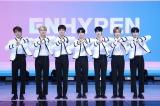 11月30日にデビューした7人組グループ・ENHYPEN(左から)ジェイク、ジェイ、ヒスン、ジョンウォン、ソンフン、ニキ、ソヌ(C)BELIFT LAB