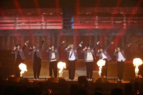 BTSの「Boy In Luv」のカバーを披露 写真提供:BELIFT LAB