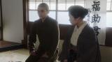 壮行会でみんなにあいさつをする福助(井上拓哉)=連続テレビ小説『おちょやん』第17週・第82回より (C)NHK
