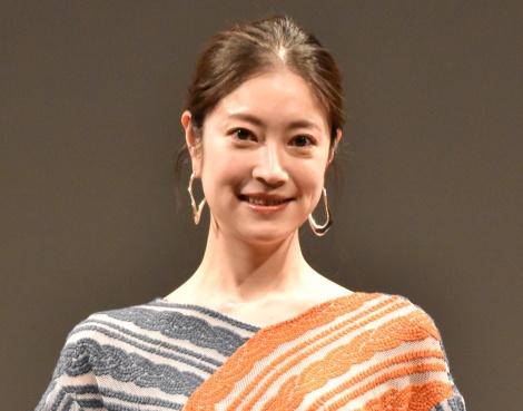 映画『FUNNY BUNNY』完成披露上映会舞台挨拶に出席した関めぐみ (C)ORICON NewS inc.