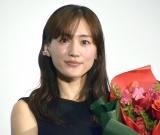 映画『奥様は、取り扱い注意』大ヒット御礼舞台あいさつに登壇した綾瀬はるか (C)ORICON NewS inc.