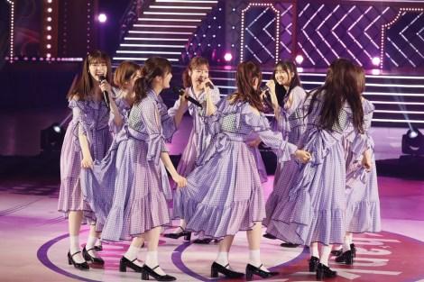 本編ラストでデビューシングル「ぐるぐるカーテン」を披露=『乃木坂46 9th YEAR BIRTHDAY LIVE 〜1期生ライブ〜』