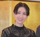 短編映画『アンコン〜夫婦あるある物語〜』の成功祈願イベントに参加した雛形あきこ (C)ORICON NewS inc.