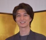 短編映画『アンコン〜夫婦あるある物語〜』の成功祈願イベントに参加した天野浩成 (C)ORICON NewS inc.