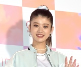 『GiRLS by PEACH JOHN 2021 年新ブランドミューズ発表会』に参加した馬場ふみか (C)ORICON NewS inc.