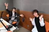 3日スタートするラジオ日本『日テレアナ・ザ・ワールド!』に出演するラルフ鈴木アナウンサー、徳島えりかアナウンサー