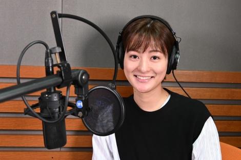 3日スタートするラジオ日本『日テレアナ・ザ・ワールド!』に出演する徳島えりかアナウンサー