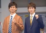 中学校の自分へメッセージを送った(左から)馬場良馬、伊藤あさひ (C)ORICON NewS inc.