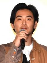 映画『ゾッキ』公開記念舞台あいさつに登壇した松田龍平 (C)ORICON NewS inc.