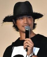 映画『ゾッキ』公開記念舞台あいさつに登壇した齊藤工 (C)ORICON NewS inc.