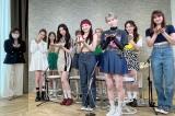 『ZIP!』新企画「ミトmeets」で水卜麻美アナがNiziUにインタビュー (C)日本テレビ