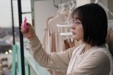 第1話「死にたがり珈琲」早野美咲(貫地谷しほり)=『珈琲いかがでしょう』テレビ東京系で4月5日スタート (C)「珈琲いかがでしょう」製作委員会