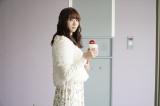 第1話「人情珈琲」馬場(足立梨花)=『珈琲いかがでしょう』テレビ東京系で4月5日スタート (C)「珈琲いかがでしょう」製作委員会