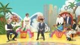 6日放送の『仰天ニュース20周年スペシャル!』に出演する所ジョージとスタジオの様子 (C)日本テレビ