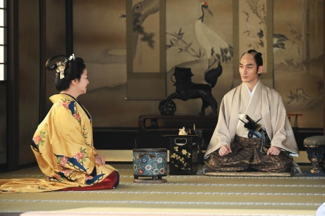大河ドラマ『青天を衝け』で徳川慶喜を演じている草なぎ剛(C)NHK
