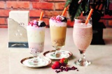 タリーズ愛知・岐阜・三重限定で展開する『苺あんミルク』、『苺あんラテ』、『米米あんスワークル』