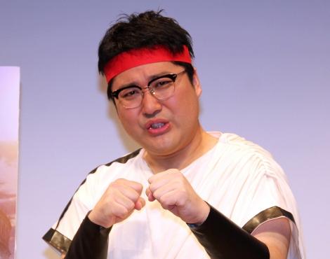 テレビアニメ『セスタス -The Roman Fighter-』試写会イベントに登場したマヂカルラブリー・村上 (C)ORICON NewS inc.