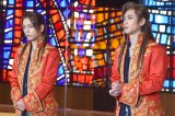 ミュージカル『モーツァルト!』の開幕前日取材会に参加した(左から)山崎育三郎、古川雄大 (C)ORICON NewS inc.