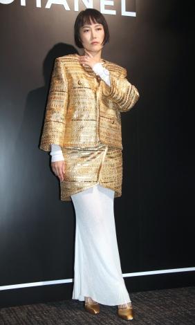 サムネイル 第2子出産後、初めて公の場に登場した菊地凛子 (C)ORICON NewS inc.