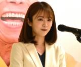 『笑点放送55周年特別記念展』オープニングセレモニーで司会を努めた日本テレビの滝菜月アナウンサー(C)ORICON NewS inc.(C)NTV