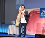 『「明治プロビオヨーグルトLG21」発売21周年記念イベント』に参加した高橋英樹 (C)ORICON NewS inc.
