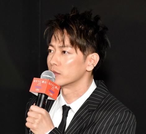 映画『るろうに剣心 最終章 The Final』IMAX公開イベントに登壇した佐藤健 (C)ORICON NewS inc.