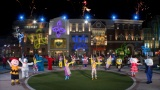 USJのキャラクターやエンターテイナーによる「NO LIMIT! TIME」ダンス振付(C)ユニバーサル・スタジオ・ジャパン