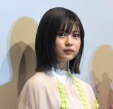 映画『街の上で』初日舞台あいさつに登壇した中田青渚 (C)ORICON NewS inc.