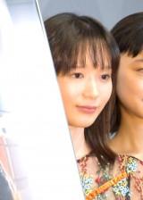 映画『街の上で』初日舞台あいさつに登壇した穂志もえか (C)ORICON NewS inc.