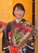 『第42回 吉川英治文学新人賞』贈呈式に出席した村山由佳(C)ORICON NewS inc.