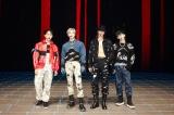 『ミュージックステーション』ステージオフショット(左から)オンユ、テミン、ミンホ、キー