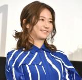 映画『BLUE/ブルー』公開記念舞台あいさつに登壇した木村文乃 (C)ORICON NewS inc.