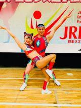 オードリー春日&フワちゃん「全日本エアロビクス選手権大会」でメダル獲得(C)TBS
